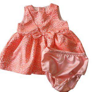 CAT & JACK Coral Adorable Dress 6-9 mo